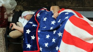 homelesssleepingflag